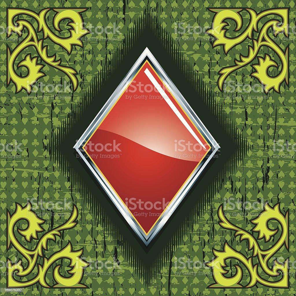 Gaming Elements IV -Diamond- royalty-free stock vector art
