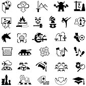 Gaming Genre Icons