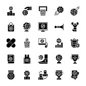 Gaming Glyph Vector Icons