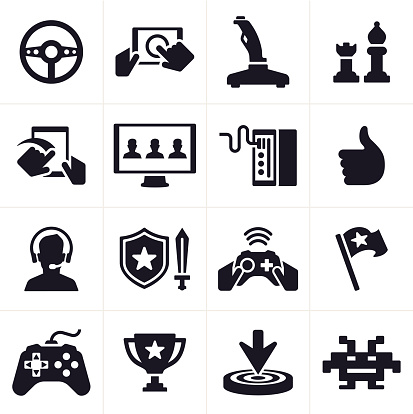 Gaming Icons and Symbols