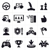 Gaming Icons and Symbols