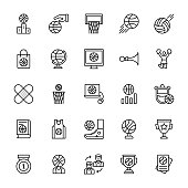 Gaming Line Vector Icons