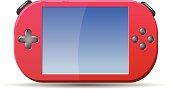 Gaming Portable Console Gadget Vector Icon