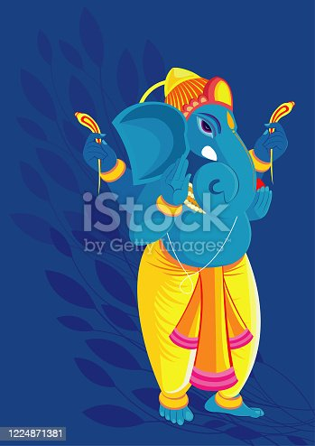 istock Ganesha 1224871381