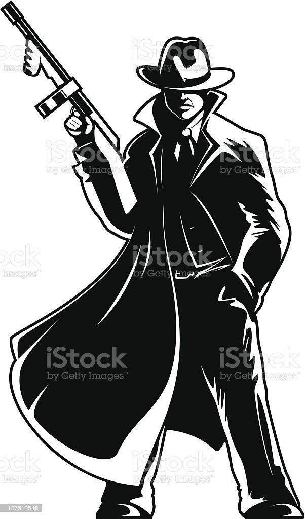Gangster Stock Vector Art & More Images of Cartoon - iStockGangsta Artwork