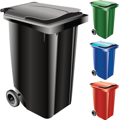 Garbage Can (Vector)