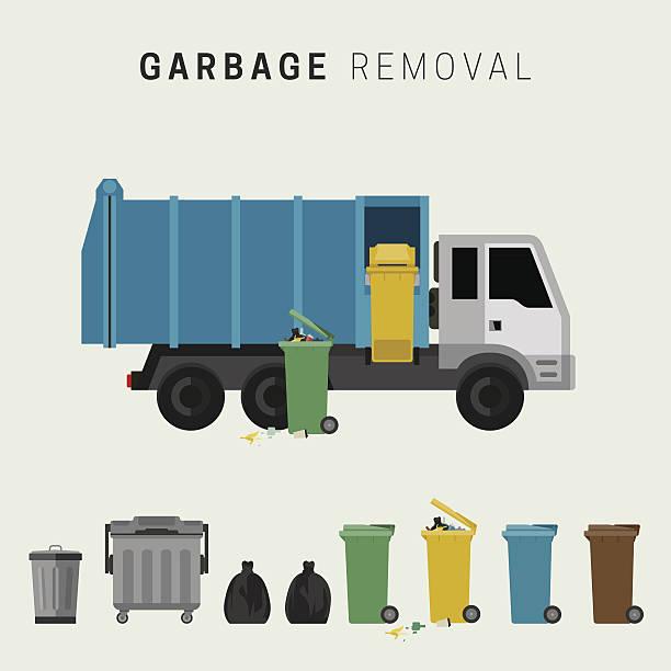 garbage removal - 集める点のイラスト素材/クリップアート素材/マンガ素材/アイコン素材