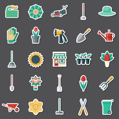 Garden Center Sticker Set