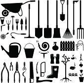 Garden equipment set