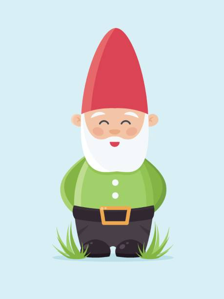 Garden Gnome Illustrations, Royalty-Free Vector Graphics ...