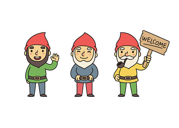 Gnome Clip Art: Best Garden Gnome Illustrations, Royalty-Free Vector
