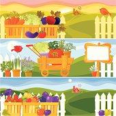 Garden Season Banners