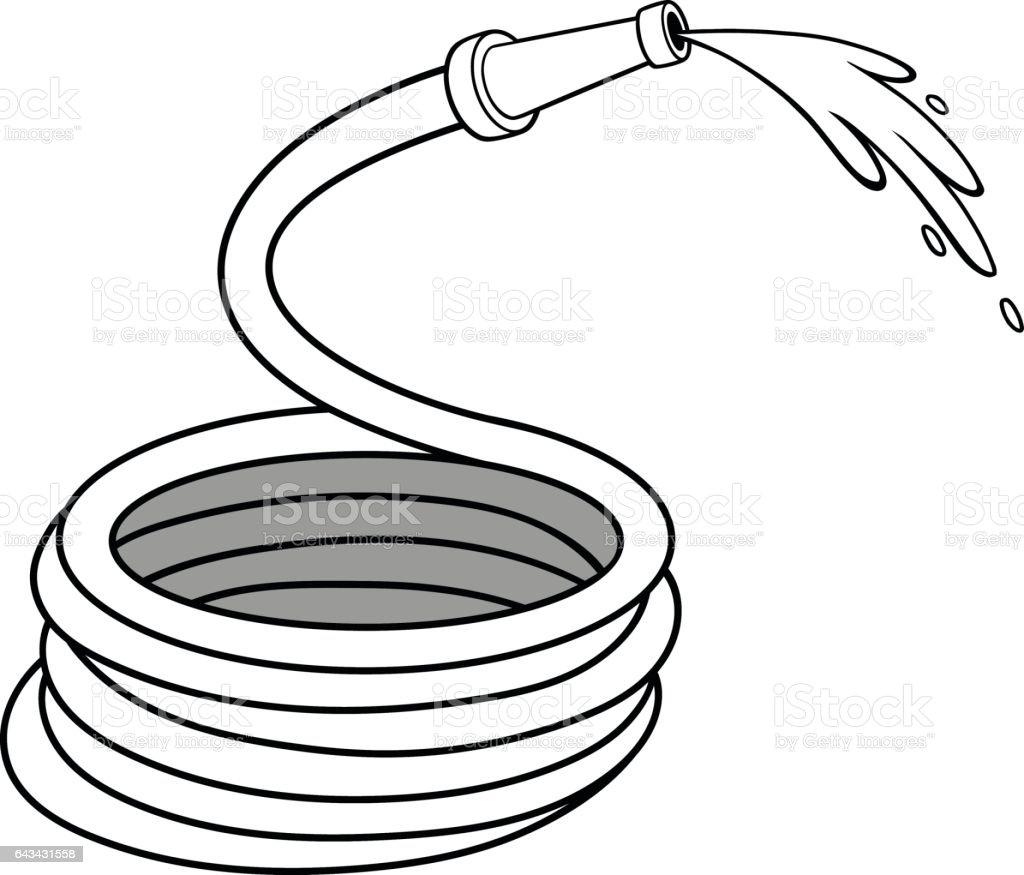 royalty free hose clip art vector images illustrations istock rh istockphoto com fire hose nozzle clipart fire hose clipart free
