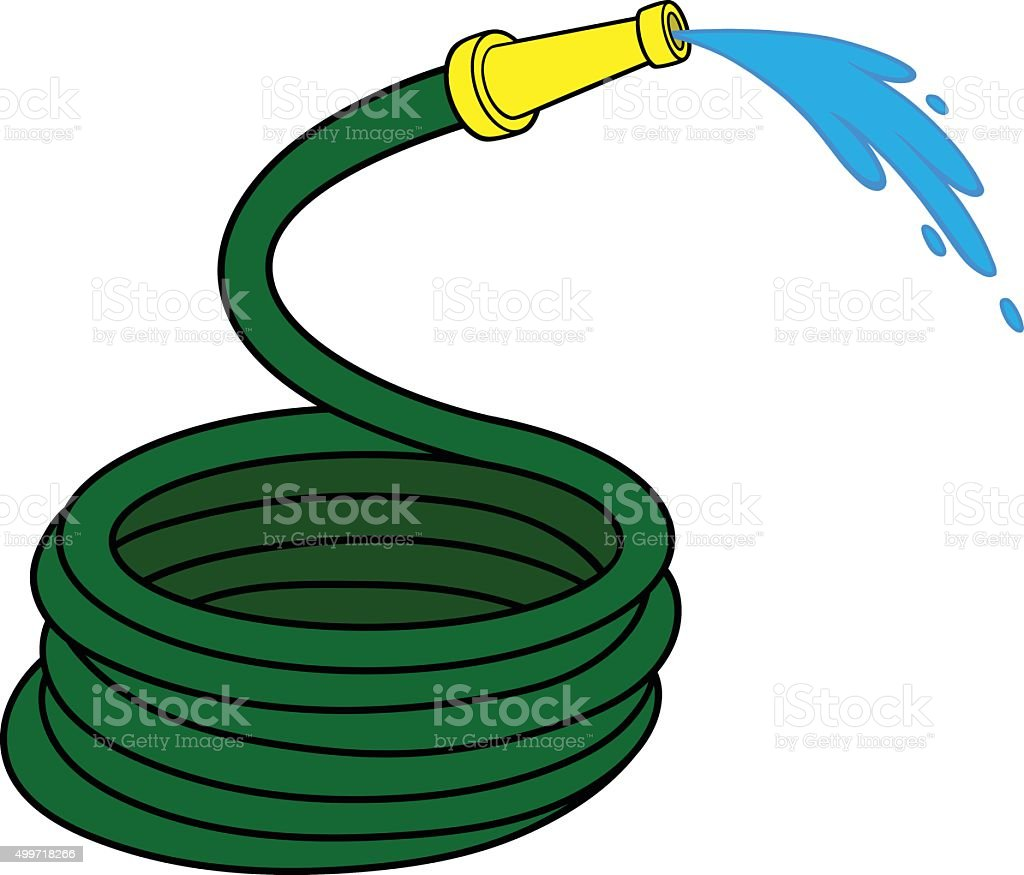 royalty free water hose clip art vector images illustrations istock rh istockphoto com fire hose reel clipart fire hose clip art free
