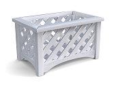 istock Garden wood box. Vector illustration. 1303430348