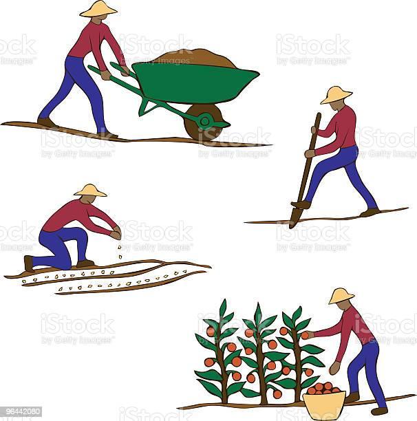 Vetores de Jardineiro Clip Art e mais imagens de Agricultor