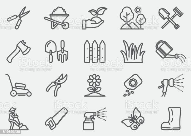 Gardening and seeding line icons vector id819659238?b=1&k=6&m=819659238&s=612x612&h=srk8lixe0h og xacbdrqq2gktxrj6genv xi6aljne=
