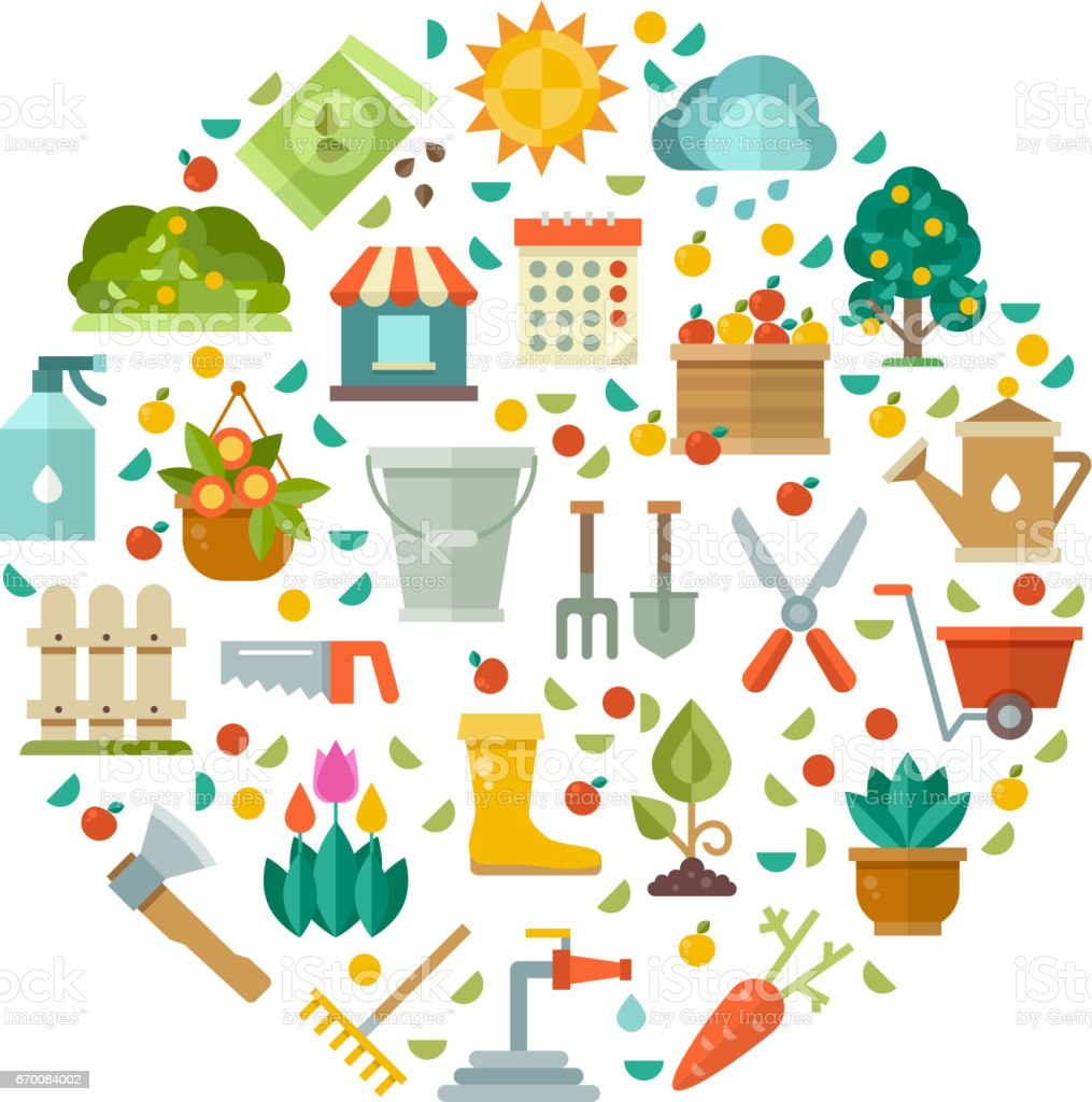 Les Outils De Jardinage Avec Photos jardinage design avec outils de jardin fleurs et semences