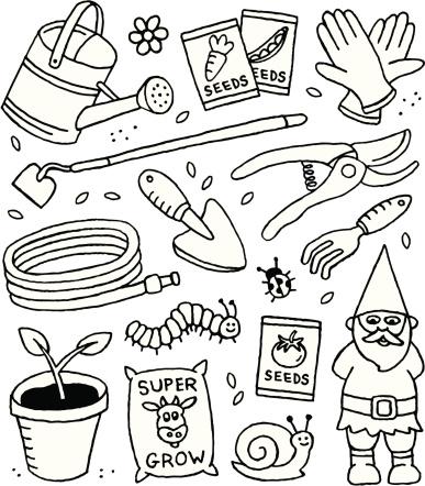 Gardening Doodles