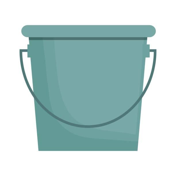 stockillustraties, clipart, cartoons en iconen met tuinieren apparatuur ontwerp - emmer