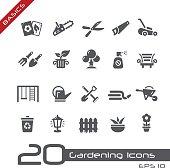 Gardening Icons - Basics