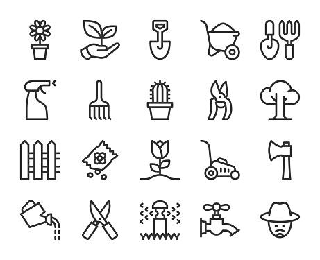 Gardening - Line Icons