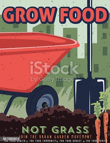 Gardening Propaganda Poster