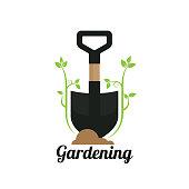 gardening. eps 10 vector file