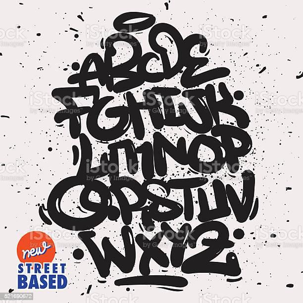Garffiti Police Vecteurs libres de droits et plus d'images vectorielles de Abstrait