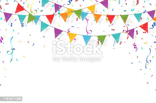 istock Garland with flags 1 1181871089