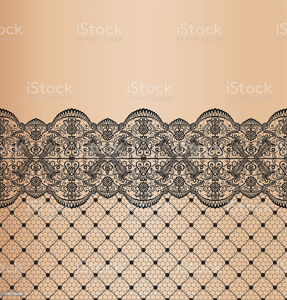 Garter vector art illustration