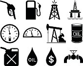 Gas and Oil Icons