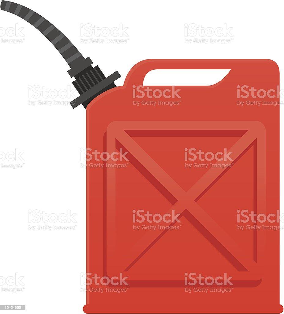 Benzinkanister – Vektorgrafik