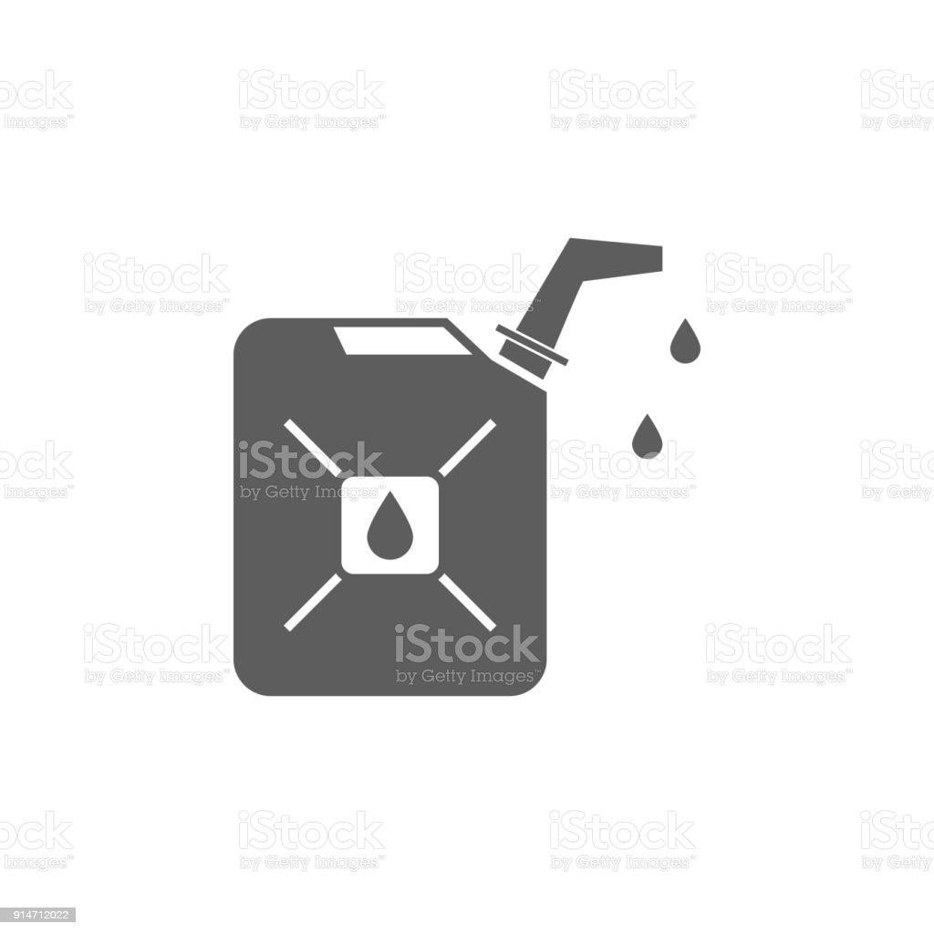 Gas-Kanister-Symbol. Element der Öl- und Gas-Symbol. Premium-Qualität-Grafik Design-Ikone. Zeichen und Symbole Sammlungssymbol für Webseiten, Webdesign, mobile-app – Vektorgrafik