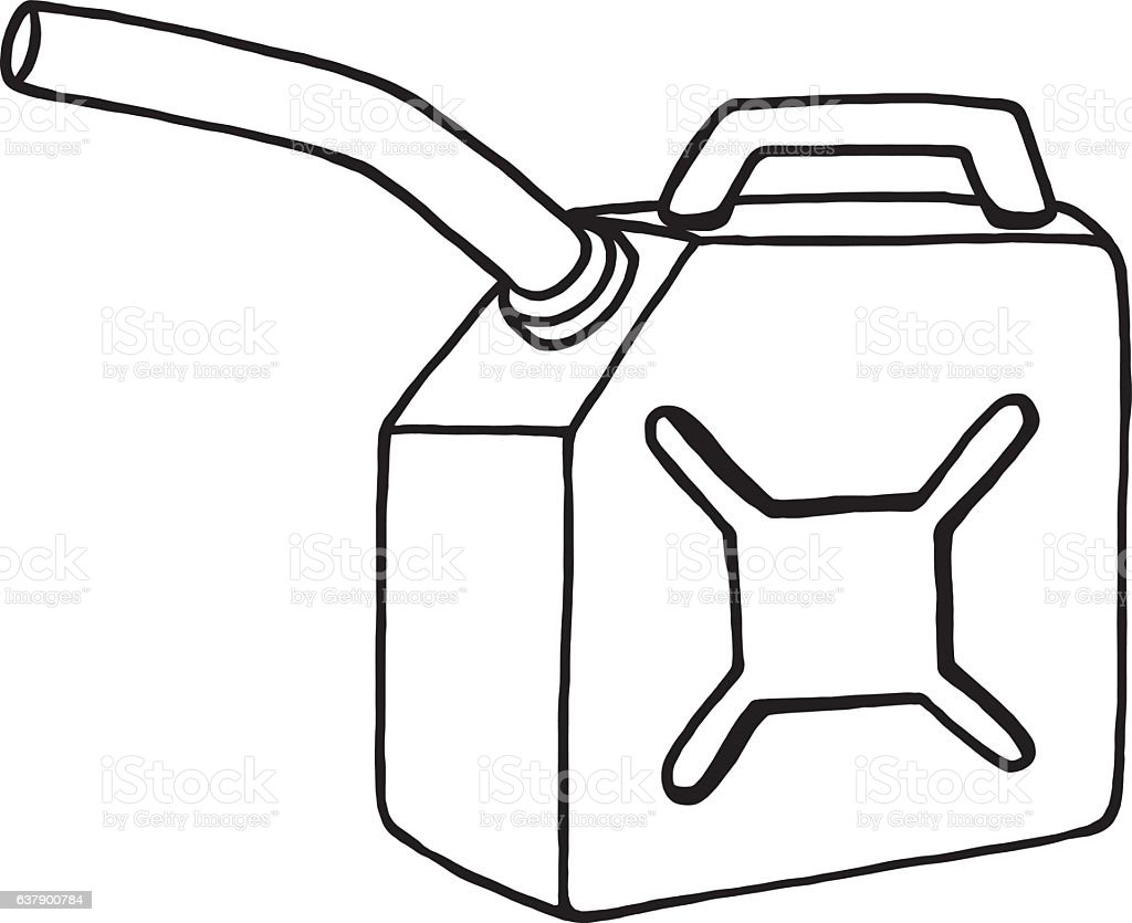 gas container stock vector art more images of black and white rh istockphoto com Coal Clip Art Dinosaur Fossil Clip Art