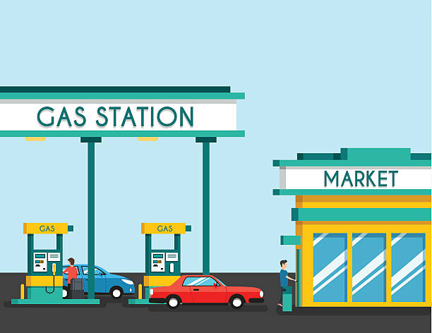 Royalty Free Gas Station Food Clip Art, Vector Images