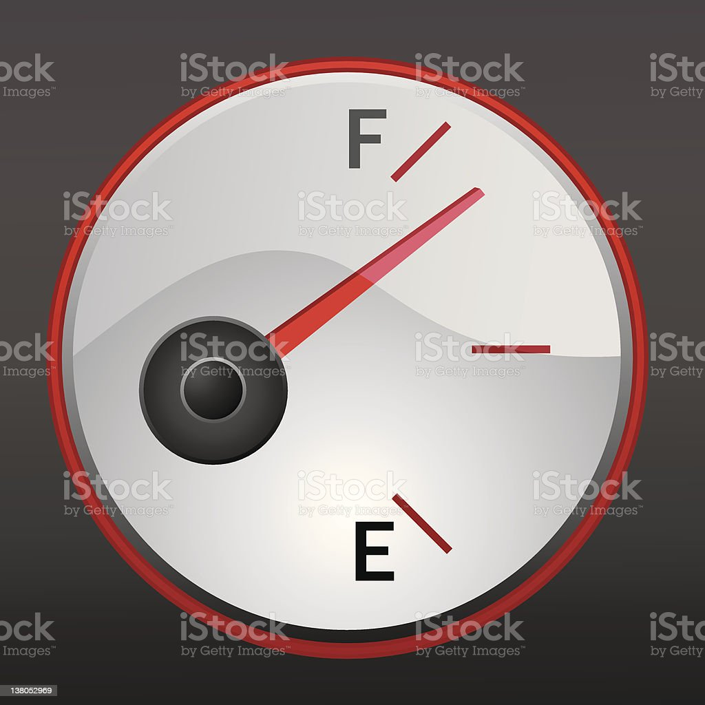 gas gauge royalty-free gas gauge stock vector art & more images of color image