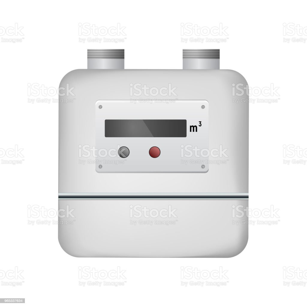 Gas meter. royalty-free gas meter stock vector art & more images of abstract