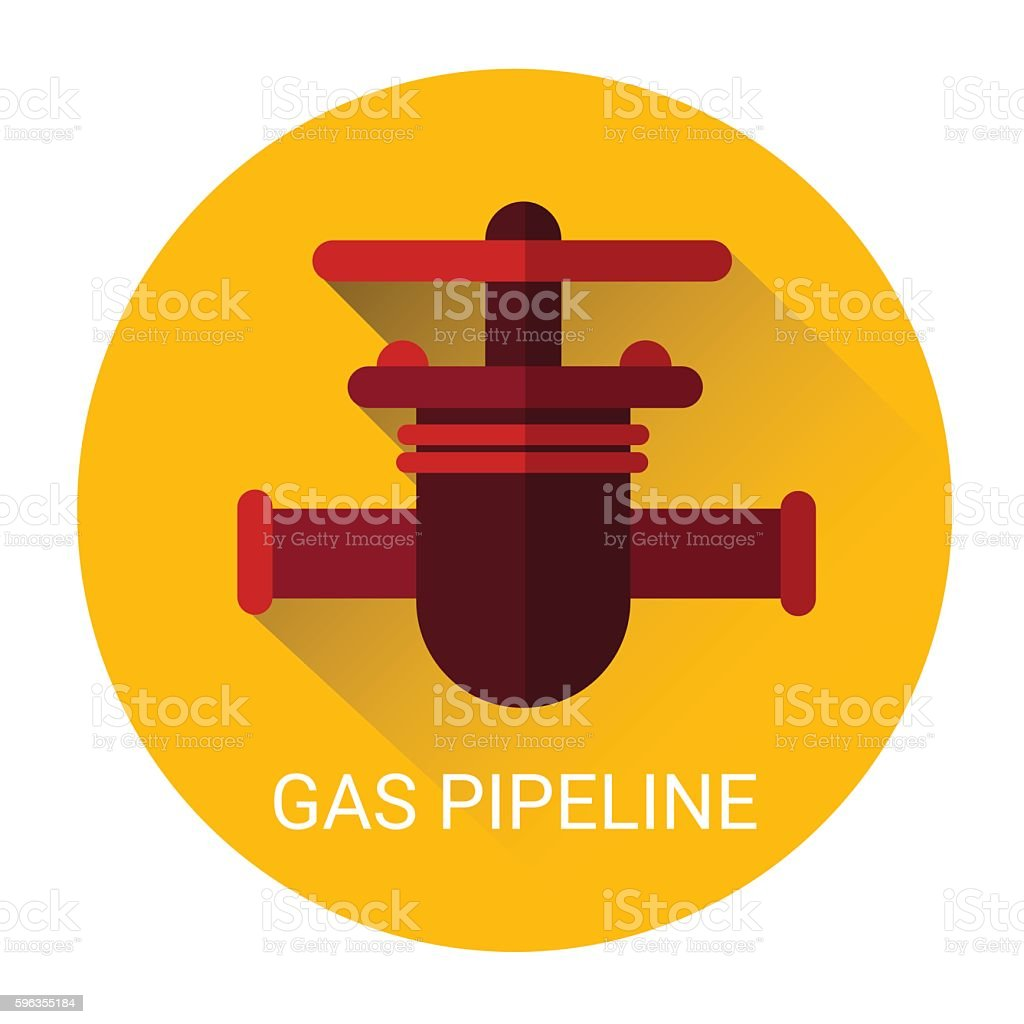 Gas Pipeline Icon royalty-free gas pipeline icon stock vector art & more images of business