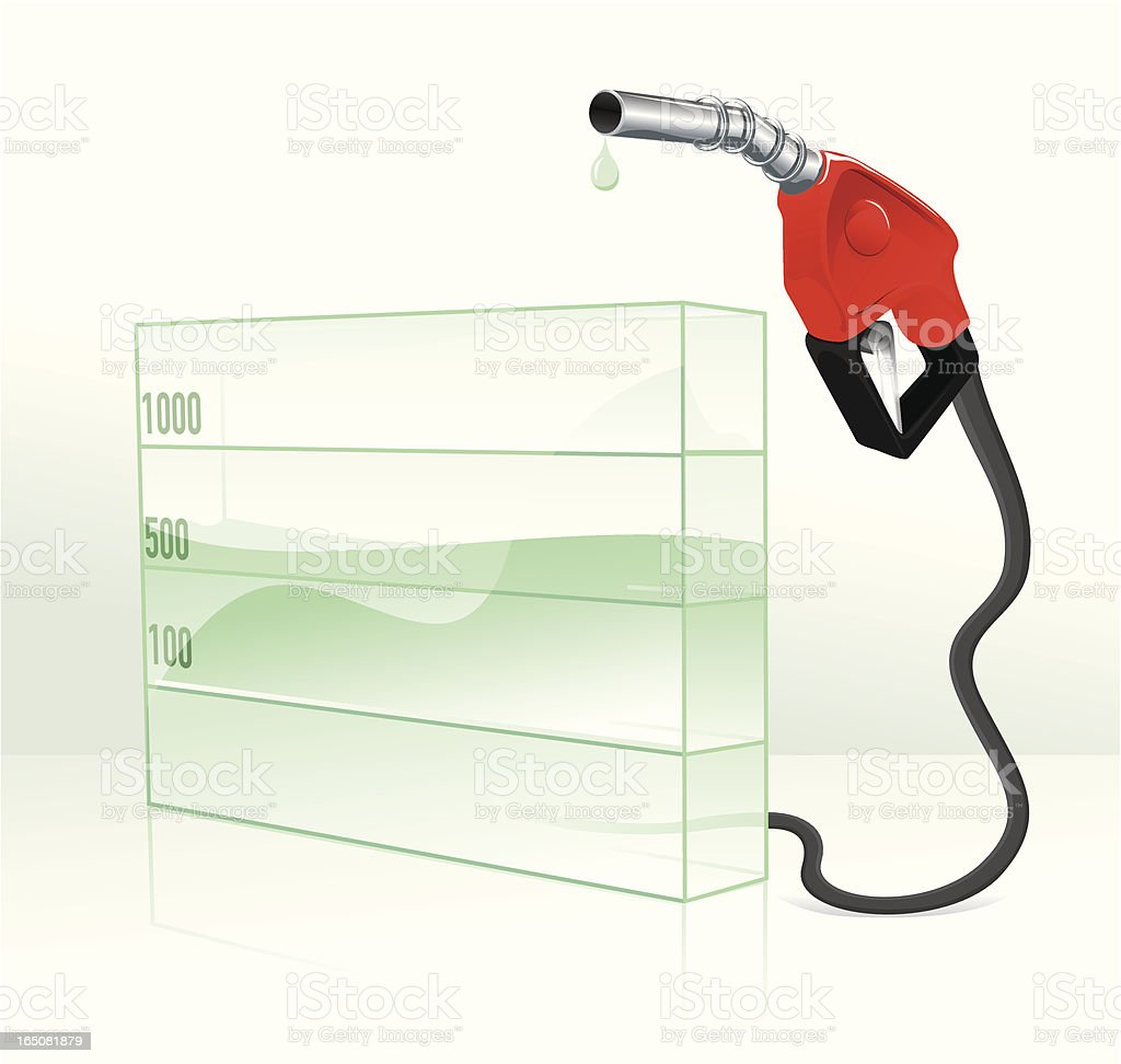 gas price rise royalty-free stock vector art