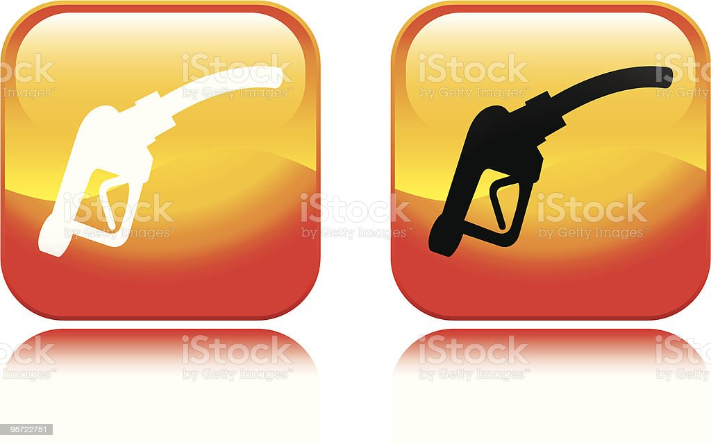 Gas Pump Icon royalty-free gas pump icon stock vector art & more images of color image