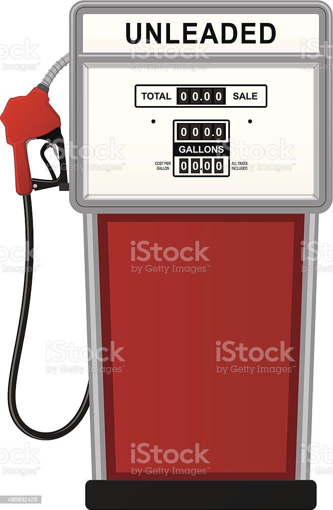 Gas Pump vector art illustration