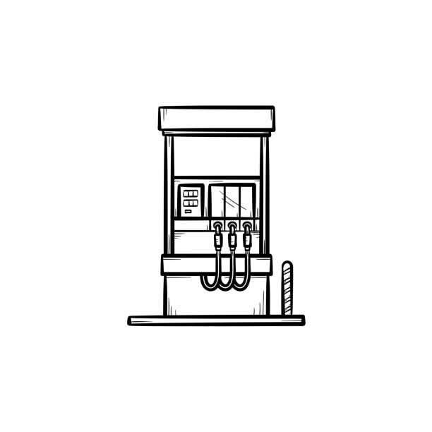 Gas Pump Handle Illustrations, Royalty-Free Vector