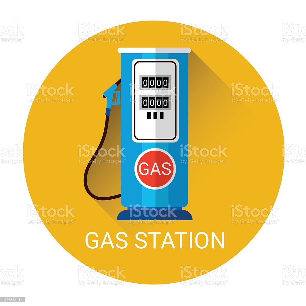 Gas Station Icon royalty-free gas station icon stock vector art & more images of backgrounds