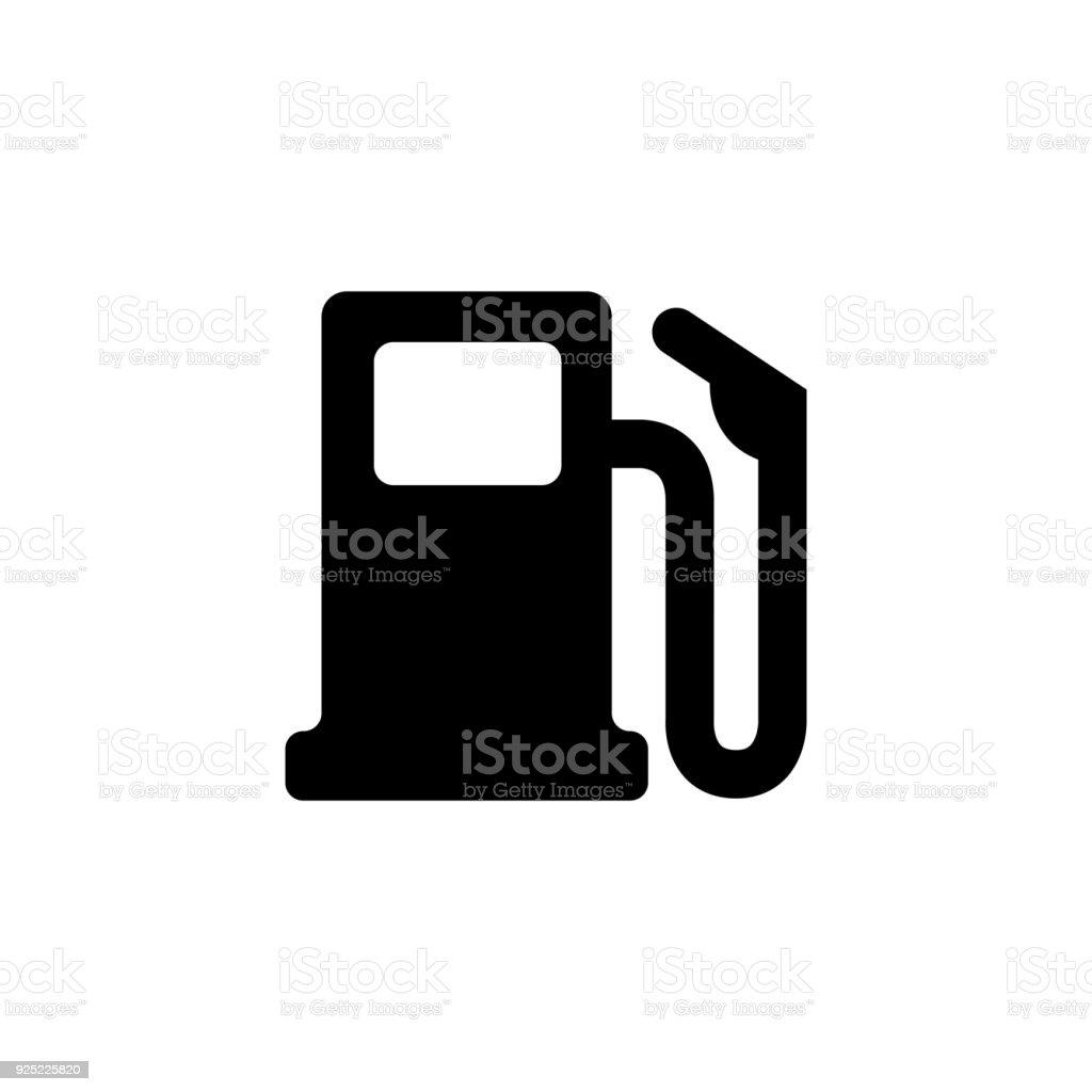 gas station icon vector art illustration