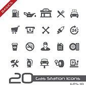 Gas Station Icons - Basics