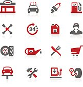 Gas Station Icons // Redico Series