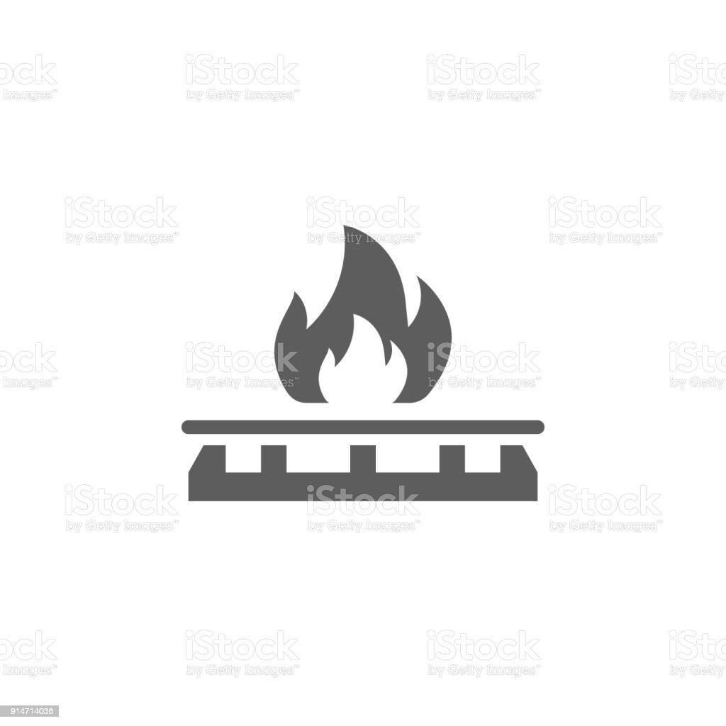 Gas Herd Symbol Element Der Öl Und Gassymbol Premiumqualitätgrafik ...