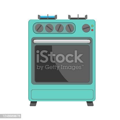 istock Gas stove 1248689678