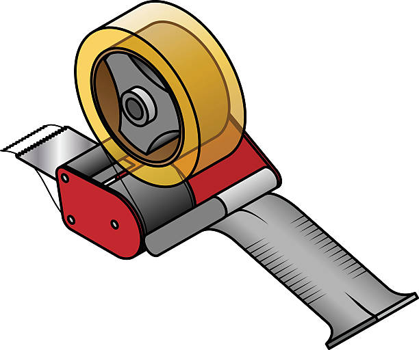 Best Packing Tape Illustrations, Royalty-Free Vector ...